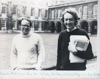 Don and Roderick, Clare College, 1977