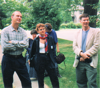 Ken Gergen, Barbara Czarniawska, Al Megill at Iowa conference 1995